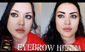 Trying The Brow Henna/Mina iBrow Henna