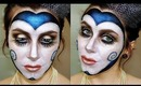Elaborate Masquerade Makeup Tutorial.