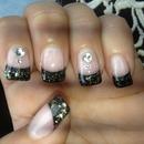 Black Nails Gel