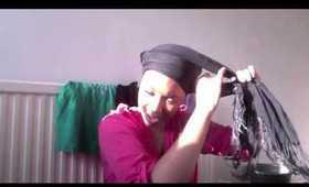 How I tie my head wrap and Morange!