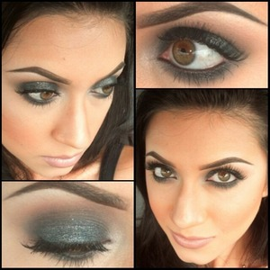 Deep, dark smokey goodness! Follow me on instagram for more looks! @madeup_mama