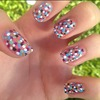 Dotted Mosaic Nails