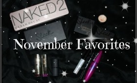 November favorites 2013