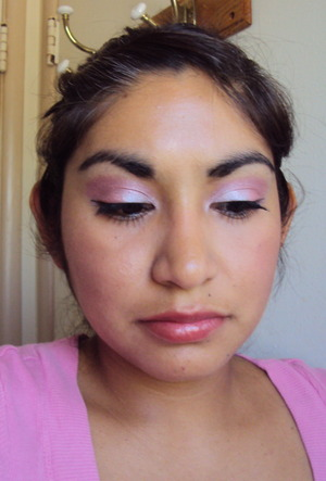 Pretty in Pink with Pretty Addictions mineral eyeshadows