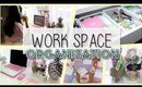 Work Space Goals! Desk Organization and Tips + GIVEAWAY
