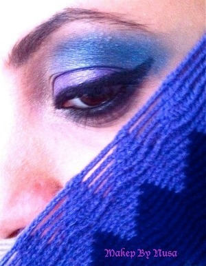 Makeup inspired by this scarf
