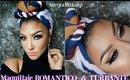 Maquillaje ROMANTICO & Turbante SAN VALENTIN/ VALENTINES  makeup tutorial  & turban | auroramakeup