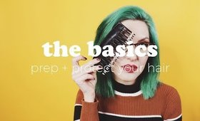 The Basics | How to Prep + Protect Your Hair for Vintage Styling