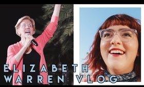 Elizabeth Warren in San Diego   VLOG