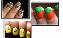 3 nail designs for kids! To do at home Youtube Easy do it yourself step by step beginners art