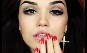 Lana del Rey inspired make up tutorial