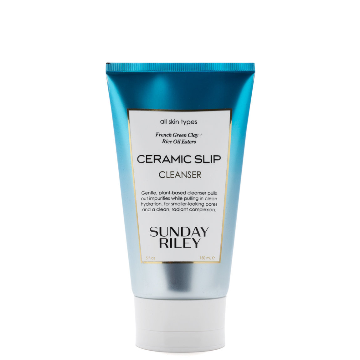 Sunday Riley Ceramic Slip Clay Cleanser product smear.