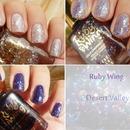 Ruby Wing Desert Valley