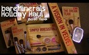 HUGE Bare Minerals Haul: Holiday (Phase 2)