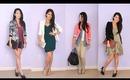 Many Ways to Style Fall Blazer Jackets {Collab w/ EvelinaBarry}