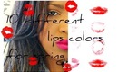 ♥10 DIFFERENT LIPS COLORS FOR SPRING TIME 2013