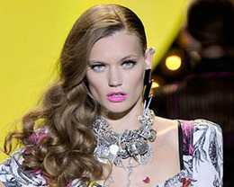 Betsey Johnson Hair, New York Fashion Week S/S 2012