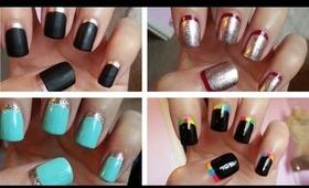 Ruffian Manicure!!! Four Easy Designs ♥