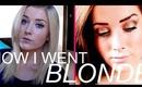 How I Went From Dark To Blonde! ♡ | rpiercemakeup