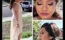 Wedding Guest Makeup, Hair, Nails & Outfit