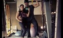 Husband & Wife's Gym Session :: Leg Day in the Dungeon!