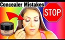 ARE YOU MAKING THIS CONCEALER MISTAKE? | FULL COVERAGE CONCEALER OVER THE AGE OF 30!!!