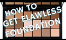 How to Get Flawless Full Coverage Foundation RCMA | Pt. 3 of a 5 Part Seminar | mathias4makeup