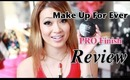 Make Up For Ever Pro Finish Review and Demo