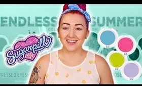 Sugarpill Endless Summer Unboxing, Live Swatches and LIVE Makeup Stream