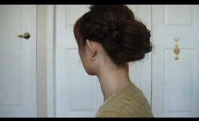 Dutch Braided Boho Chic Bun