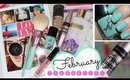 February Favourites featuring Tanya Burr, Maybelline & Revlon