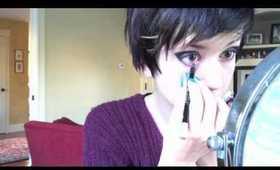 Alice Glass Celestica Makeup Tutorial