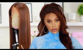 DIY | BOX DYE | CHESTNUT BROWN HAIR COLOR | WIG TUTORIAL