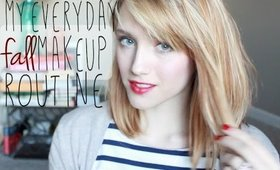 Fall Makeup Routine Using Natural Products
