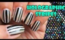 Holographic stripes | Tutorial