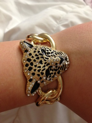 This bracelet isnt beauty related but it is absolutely beautiful!! It is from Aldo at 15$ here in Canada !