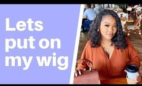 HOW TO- APPLY MY CLIP ON WIGS THIN EDGES FT upretty hair