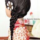Summer One-Side Multi Braid Hair Style