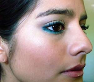 Beautiful Blues Simple Liner Look 1.2