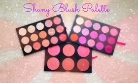 SHANY Triple Layer Mania Blush Palette Swatches & Review