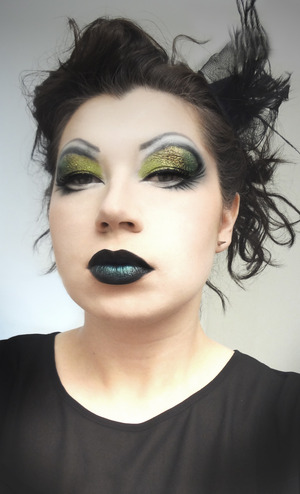 I wore this for a night out at Mickey's in WeHo to see the Absolut Drag Race tour!! I wanted to look spooky to support my girl Sharon!!!