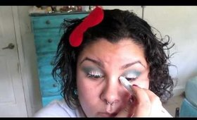 Electric Cat Eye Featuring Urban Decay