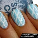 Sugary Textured Nail Art