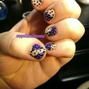 Florals and dots