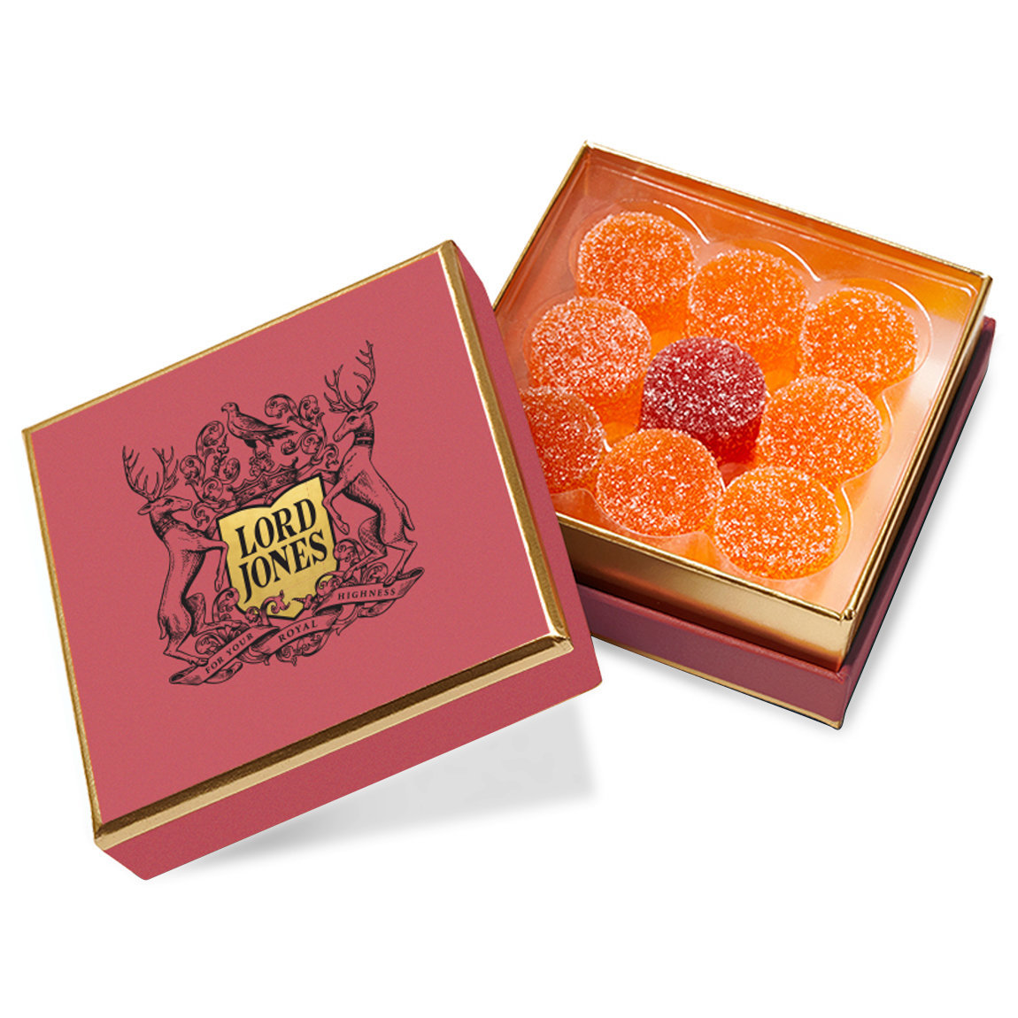 Lord Jones Limited Edition All Natural Valentine's Day Gumdrops alternative view 1 - product swatch.