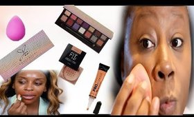 DOING FULL FACE USING JACKIE AINA TECHNIQUES!! DOES IT WORK??|Darbiedaymua