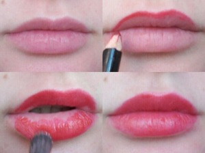 How I do my red lips.
