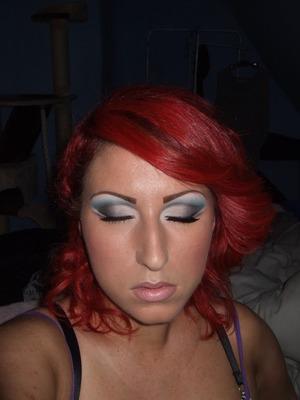 Blue cut crease