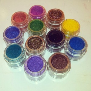 Inglot AMC Eyeshadows!.Love them