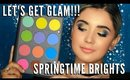 Springtime Glam Easter Brights Young and Youthful Step by Step Quick Demo | mathias4makeup